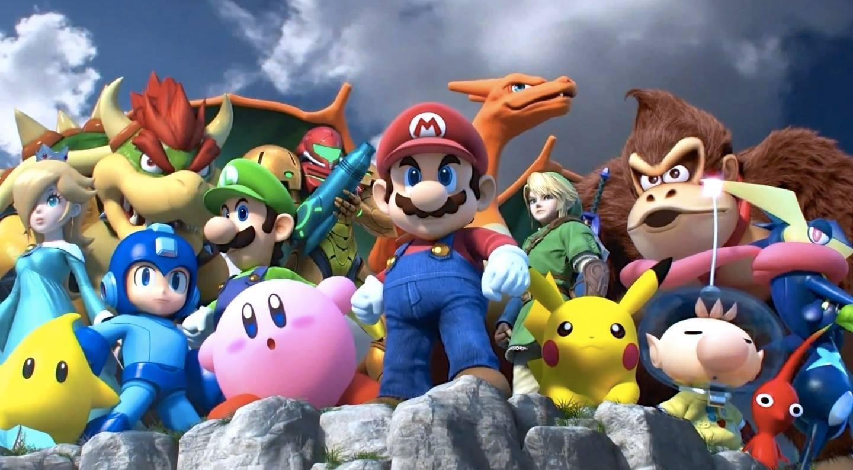Super Smash Bros. for Wii U/Nintendo 3DS artwork