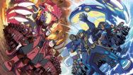 Pokémon Rubino Omega e Zaffiro Alpha artwork