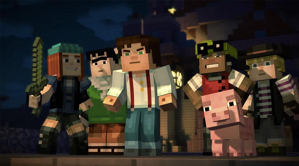 Minecraft: Story Mode arriverà in versione retail su Wii U?
