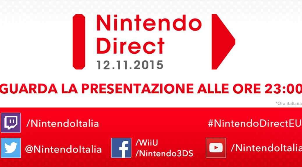 Riassunto del Nintendo Direct del 12 Novembre 2015