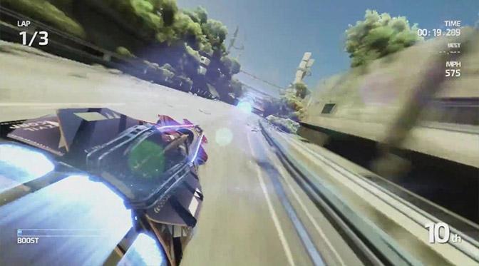 Fast Racing NEO: un'analisi tecnica illustra la bassa risoluzione e gli straordinari effetti