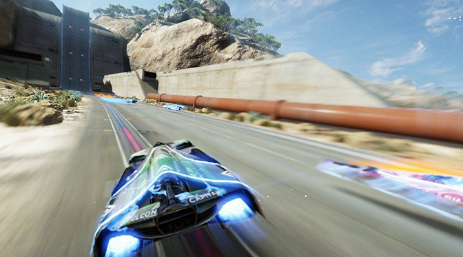 """Ecco un video della modalità che rende Fast Racing NEO identico ad F-Zero, """"Hero Mode"""""""