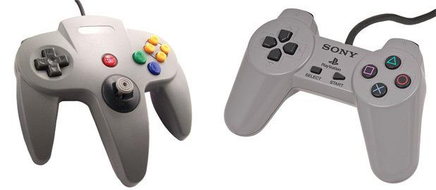 Nintendo 64 controller PlayStation