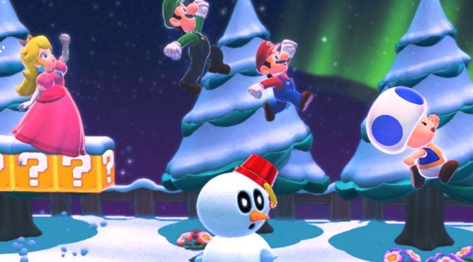 Super Mario natale