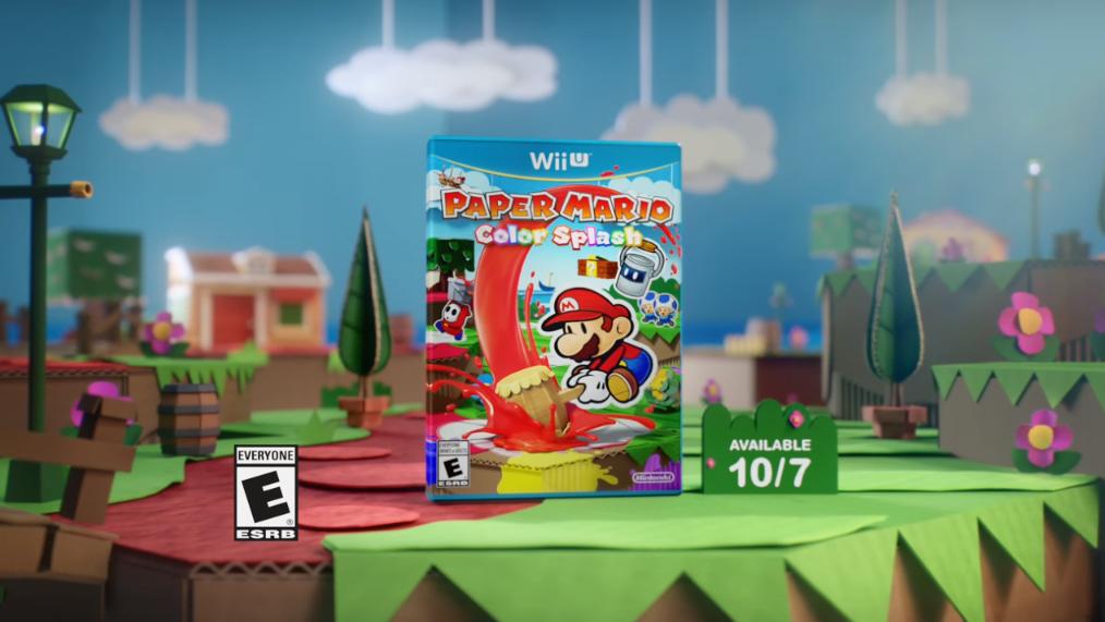 Paper Mario pubblicità