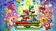 Mario & Luigi: Superstar Saga + Scagnozzi di Bowser logo
