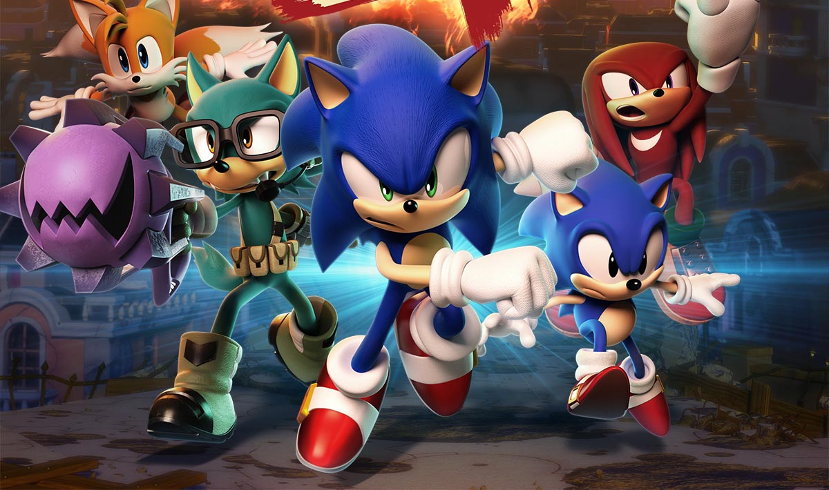 SEGA Sonic the Hedgehog Forces keyart