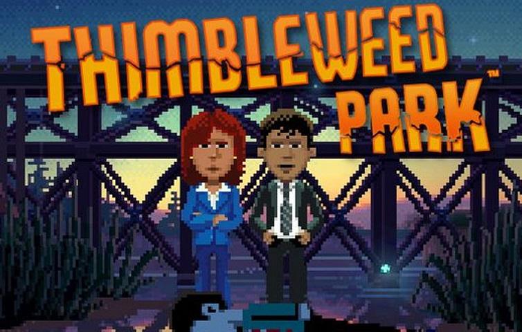 Thimbleweed Park Logo