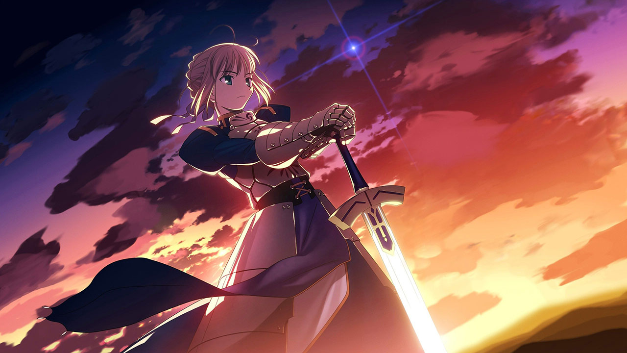 fate/stay night visual novel
