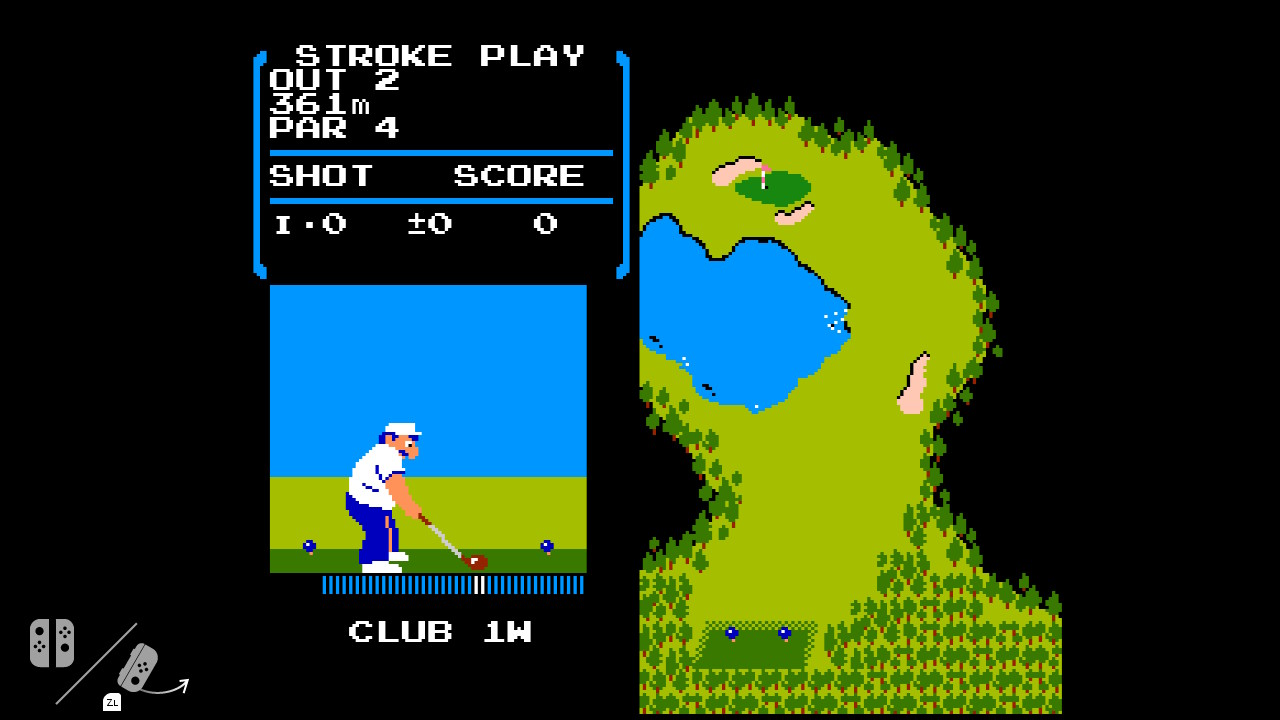 Flog Golf Nintendo Switch