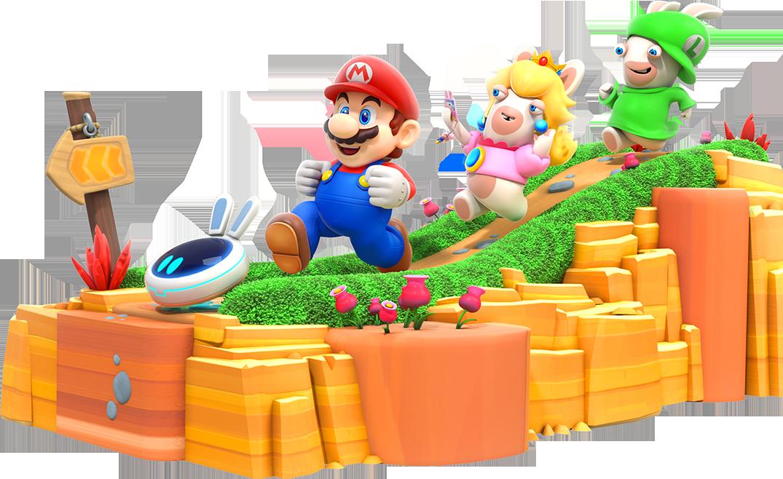 Super Mario Rabbids Grant Kirkhope