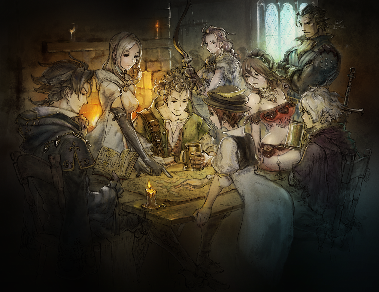 Octopath Traveler Top 2018