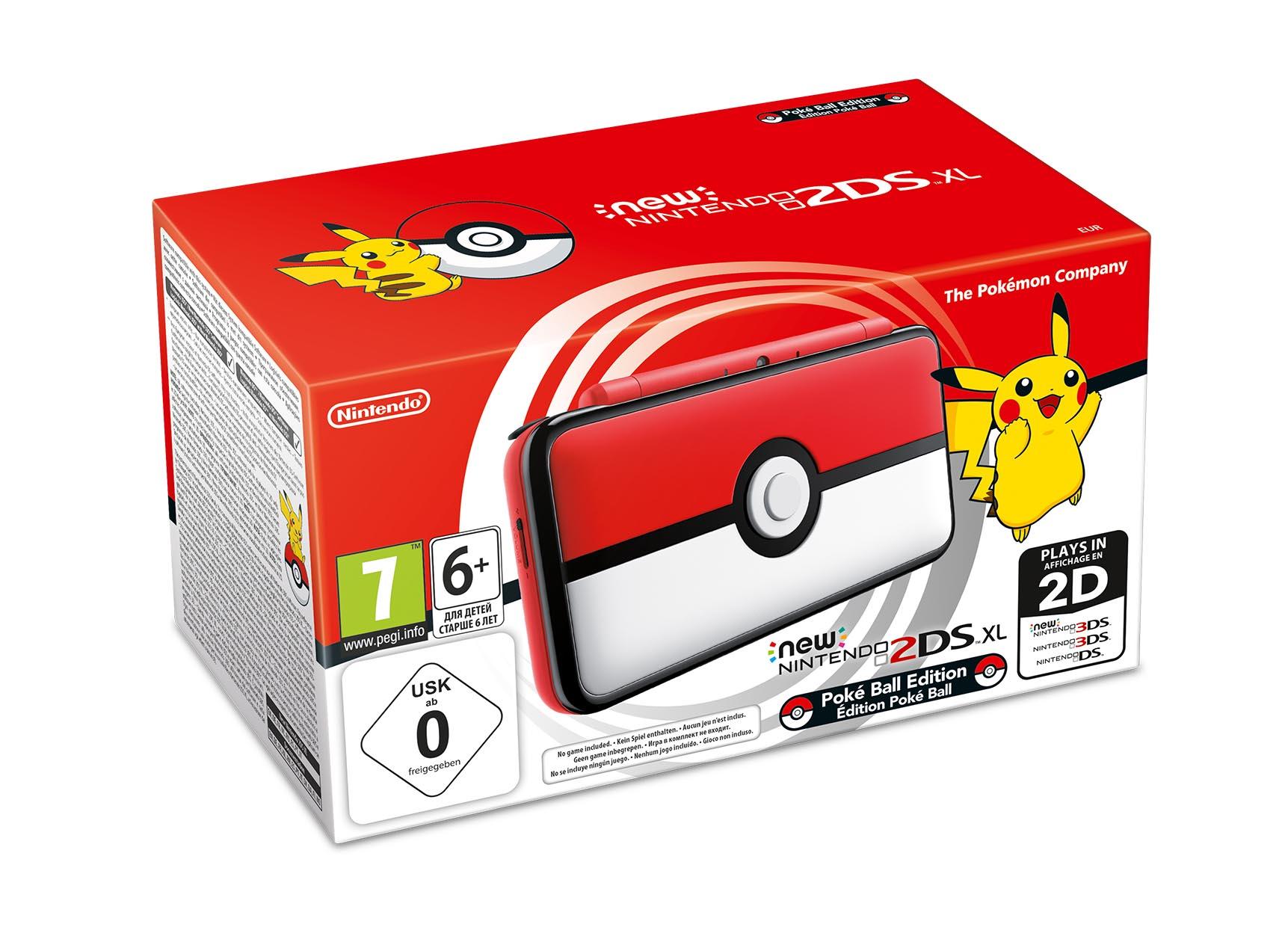 New Nintendo 2DS XL Pokémon Box