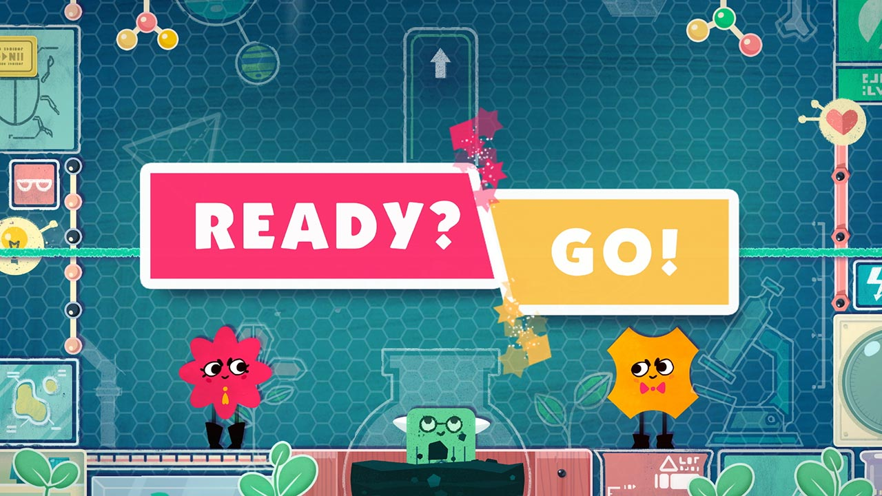 Snipperclips Plus Screen