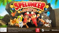 Spelunker Party! Logo