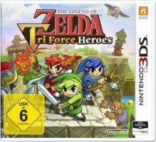 The Legend Of Zelda: Triforce Heroes Cover