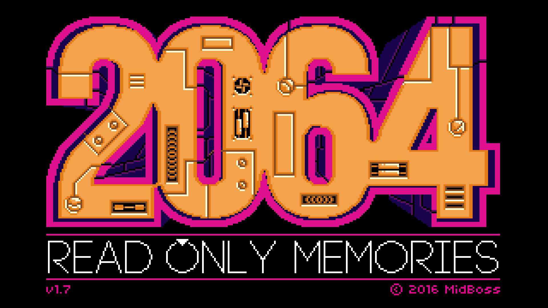 2064: Read Only Memories Integral Cover