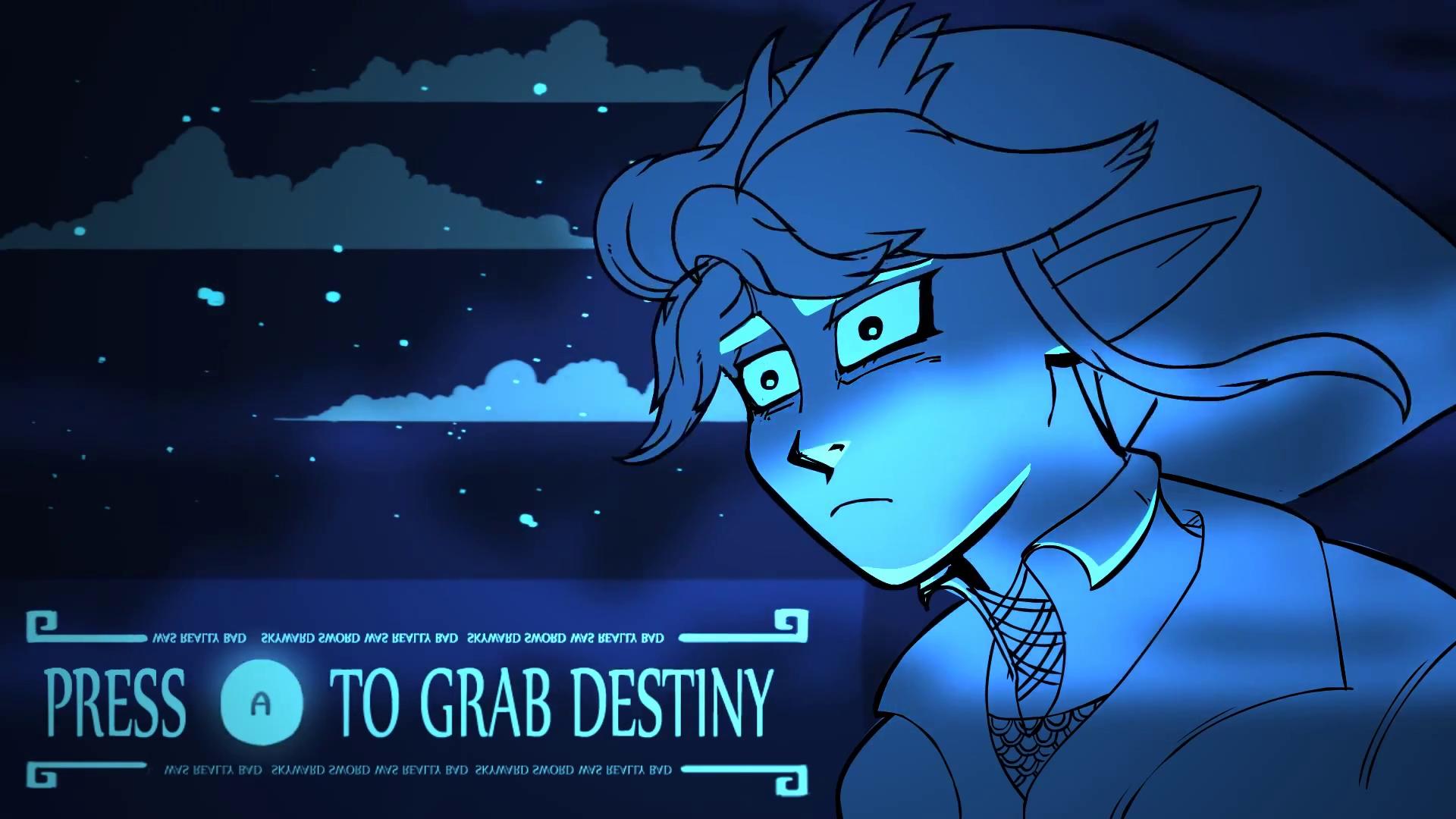 Press A to grab Destiny Nintendo