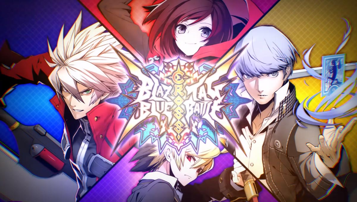 BlazBlue Cross Tag Battle Title