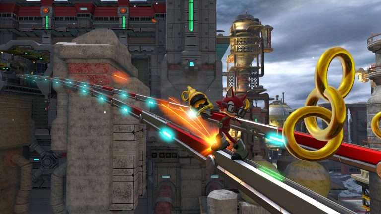 Chemical Plant Sonic Forces