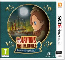 Layton'S Mystery Journey: Katrielle e il Complotto dei Milionari Cover