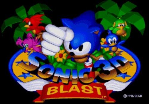 Sonic 3D Blast Title