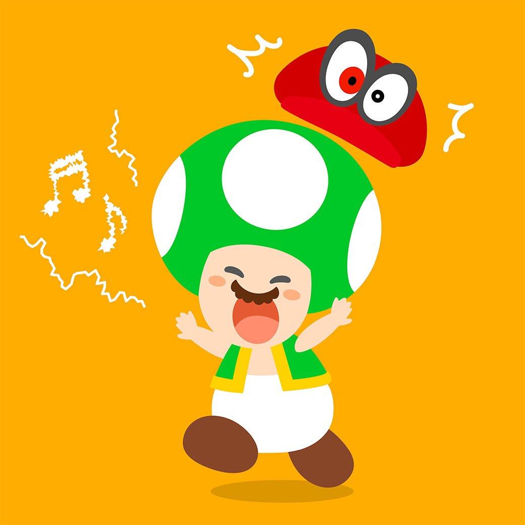 Toad Jump Up Super Star Super Mario Odyssey