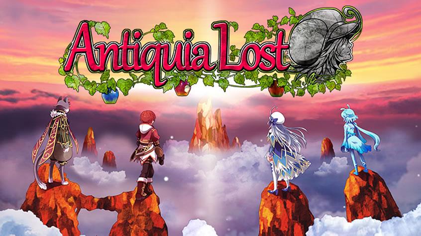 Antiquia Lost Recensione Cover
