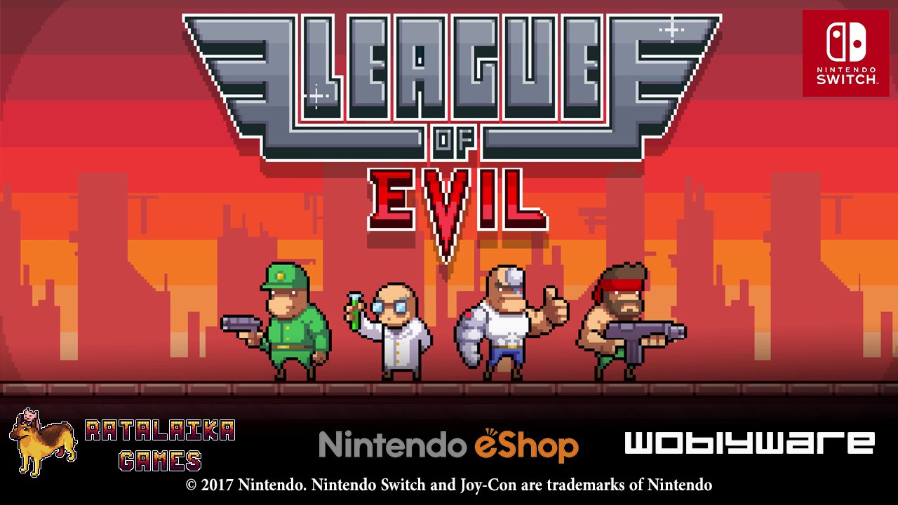 League of Evil - cover