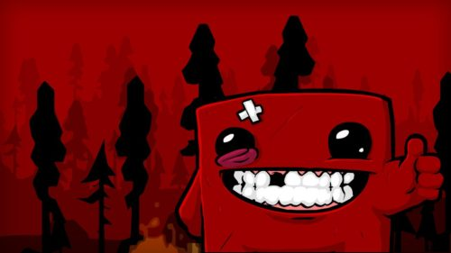 super meat boy cover
