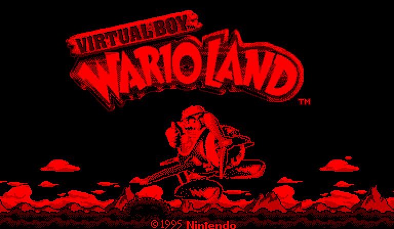 VB Wario Land title