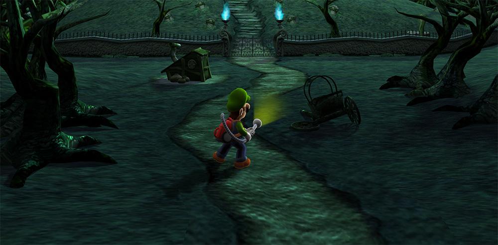 Luigi's Mansion 3DS remake