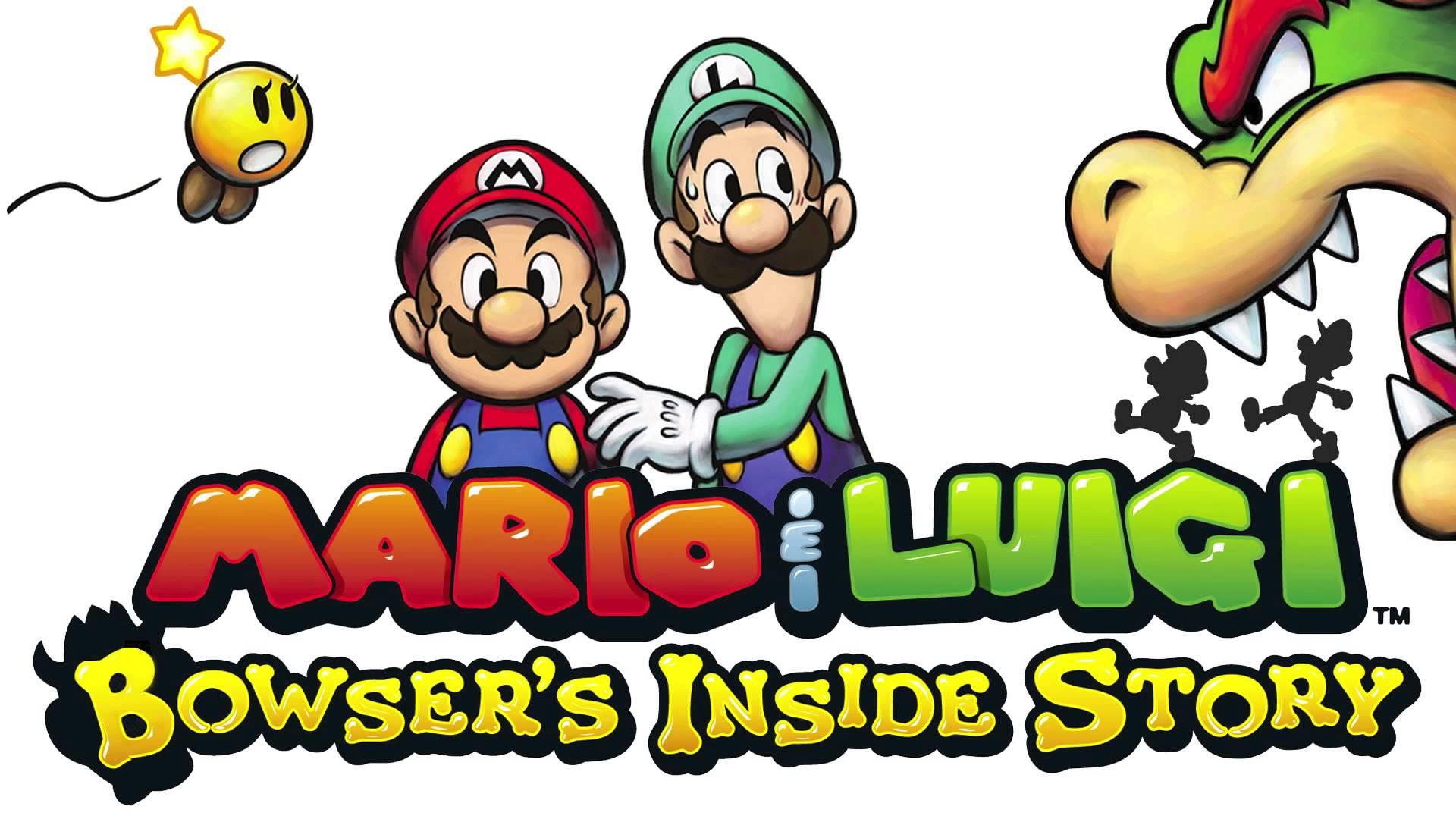 Mario & Luigi: Viaggio al centro di Bowser cover