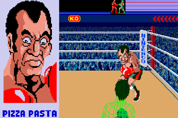 Pizza Pasta in Punch-Out!!