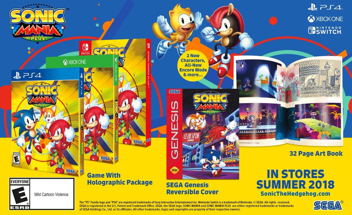 Sonic Mania Plus 1