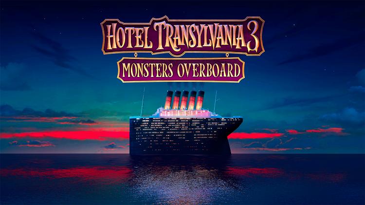 Hotel Transylvania 3 title