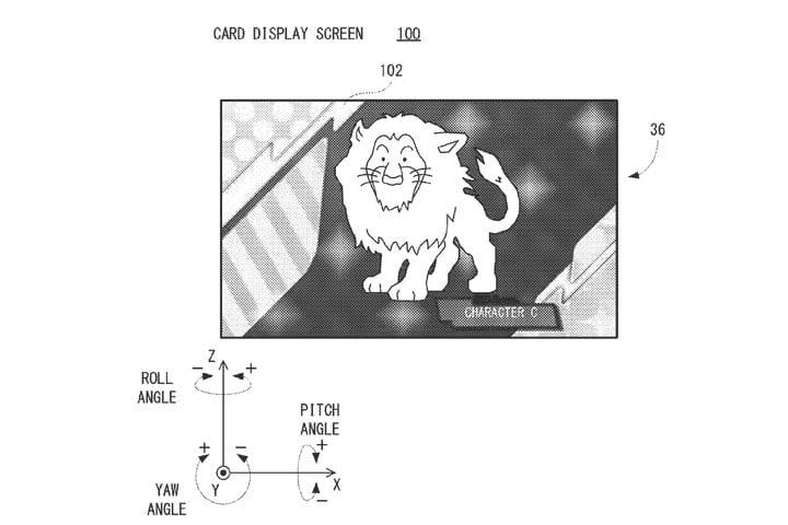 brevetto carte digitali nintendo