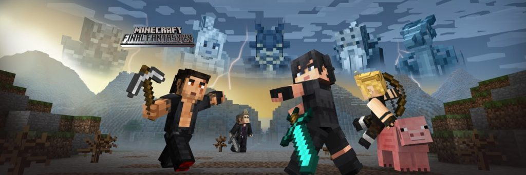 Minecraft Final Fantasy XV