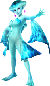 Ruto in Hyrule Warriors