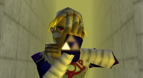 Sheik in Ocarina of Time