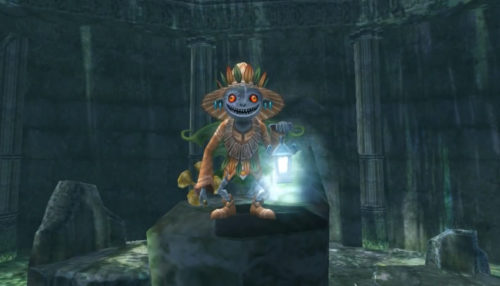Skull Kid in Twilight Princess