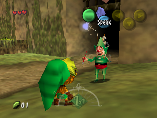Tingle in Majora's Mask