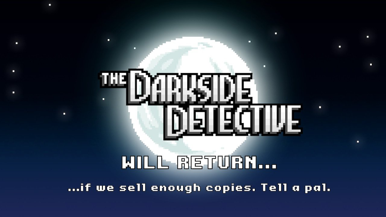screenshot the darkside detective