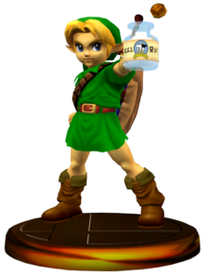 Young Link in Melee