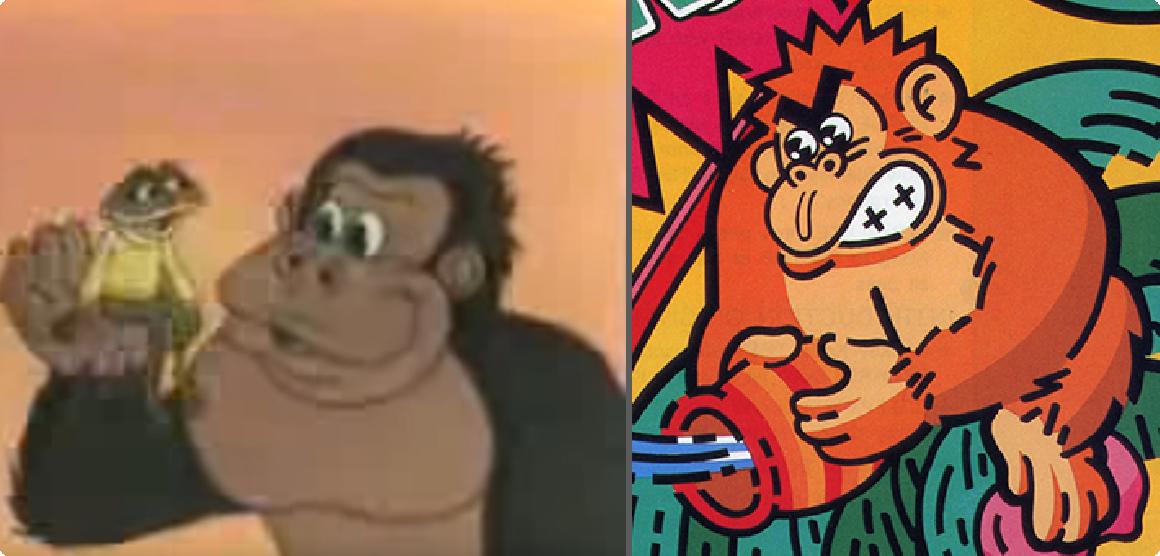 Donkey Kong cartone e Donkey Kong 3