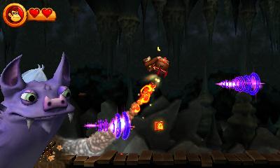 Screenshot Donkey Kong Country Returns 3D