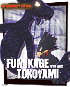 Fumikage in My Hero: One's Justice