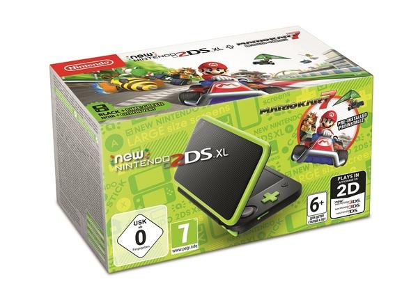 New Nintendo 2DS XL + Mario Kart 7