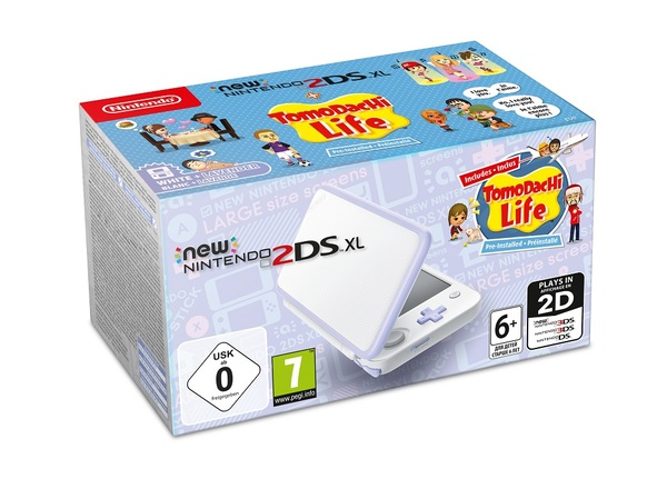 New Nintendo 2DS XL + Tomodachi Life