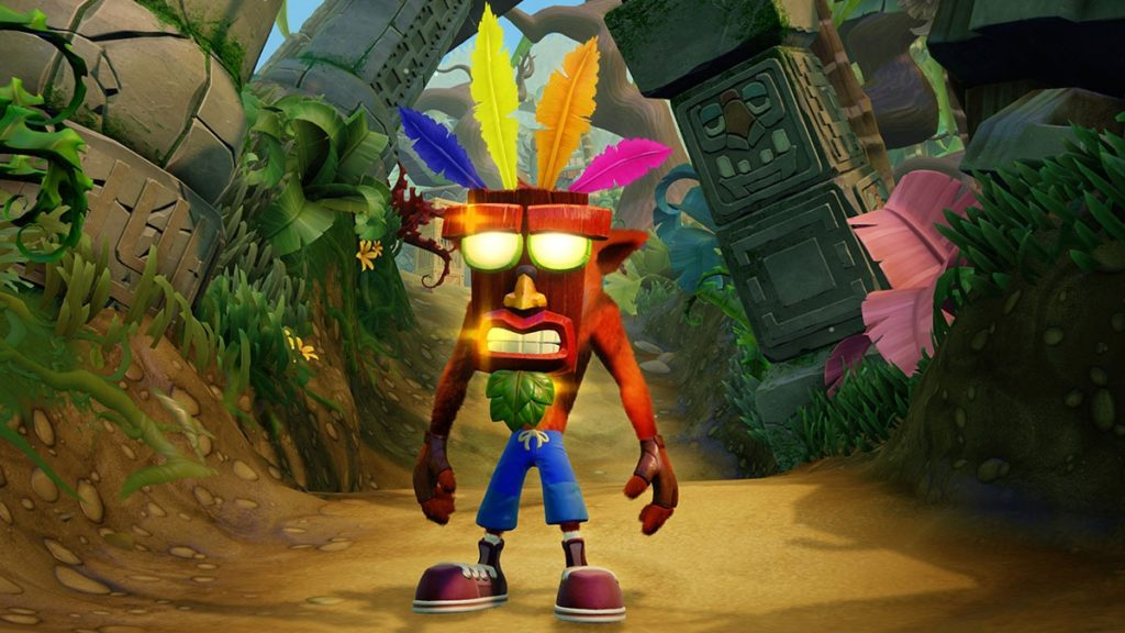 Crash Bandicoot e Aku Aku